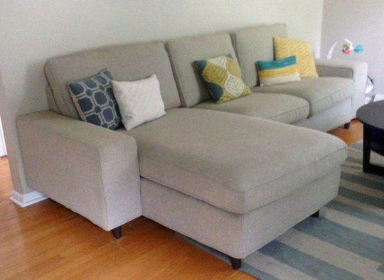 Kivik Sofa, How To Attach Legs A Sofa