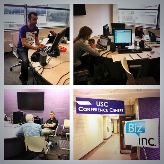 It takes a village to raise a #startup. The #BizInc crew at Western University