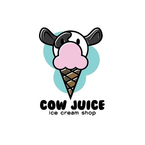Day 27 Ice Cream Logo Cow Icecream Dairy Dailylogo Dailylogochallenge Art Artist Draw Drawing Lo Logo Design Web Design Inspiration Logo Inspiration