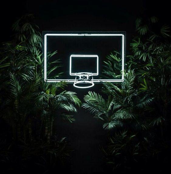 not #nike #neon #basketball