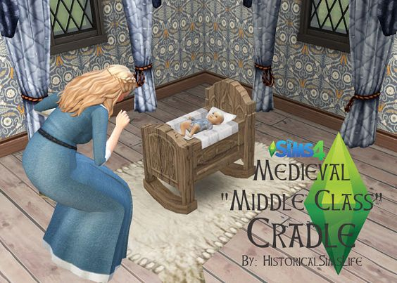 Sims 4 CC's - The Best: Medieval Middle Class Crib by Historical Sims Life...