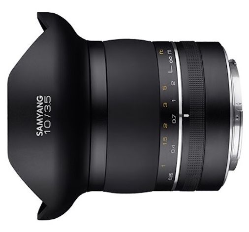 Coming Soon Samyang Xp 10mm F 3 5 Full Frame Dslr Lens For Nikon F Mount Nikon Rumors Dslr Lens Nikon Dslr Photography