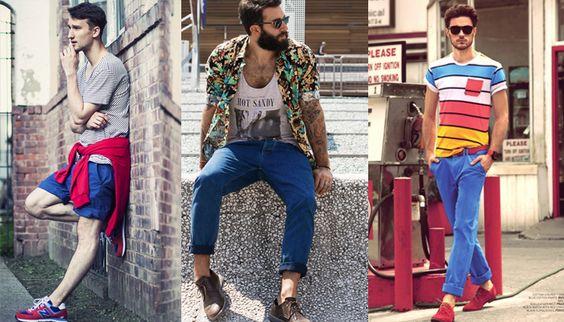 Veja nossas sugestões de combinações e dicas sobre os melhores tecidos para não sentir tanto calor durante o verão.  continue lendo em Camisas e Camisetas ideais para o verão