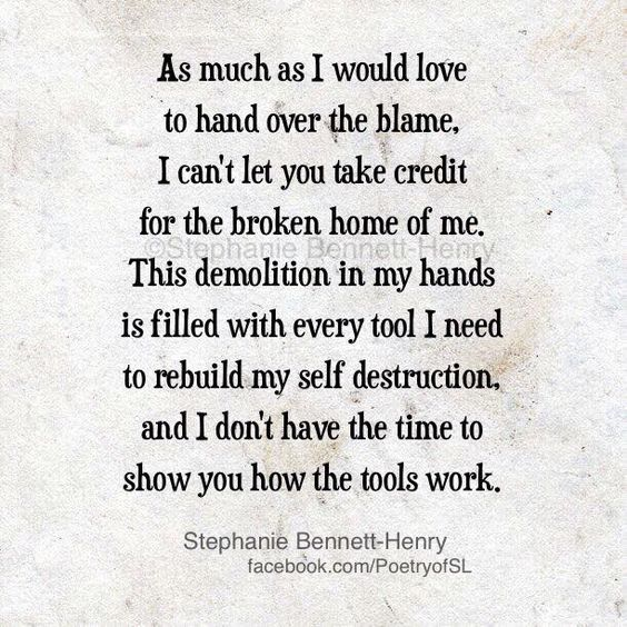 i self destruct every relationship quote