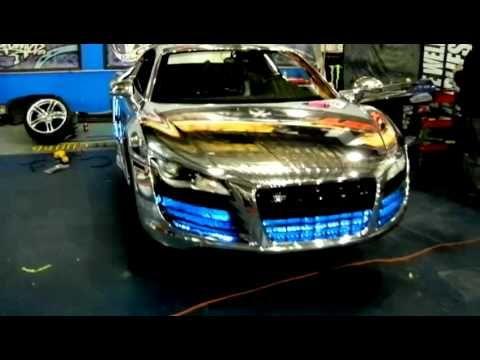 WCC Chrome Tron Audi R8 Creations n' Chrome Spray on Chrome Spectra Chrome