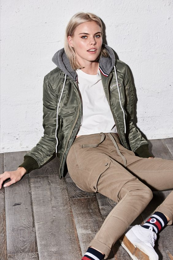 Cwu Sp Sage Bomber Jacket Streetwear Outfit Clothes