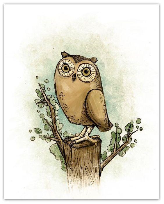 'Vintage Owl' by Michael Murdock