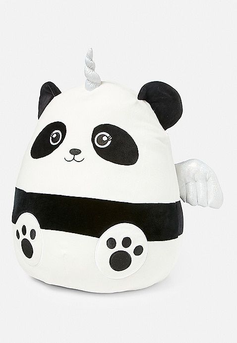 Penelope The Panda Squishmallow Justice Animal Pillows Cute Pillows Cute Stuffed Animals