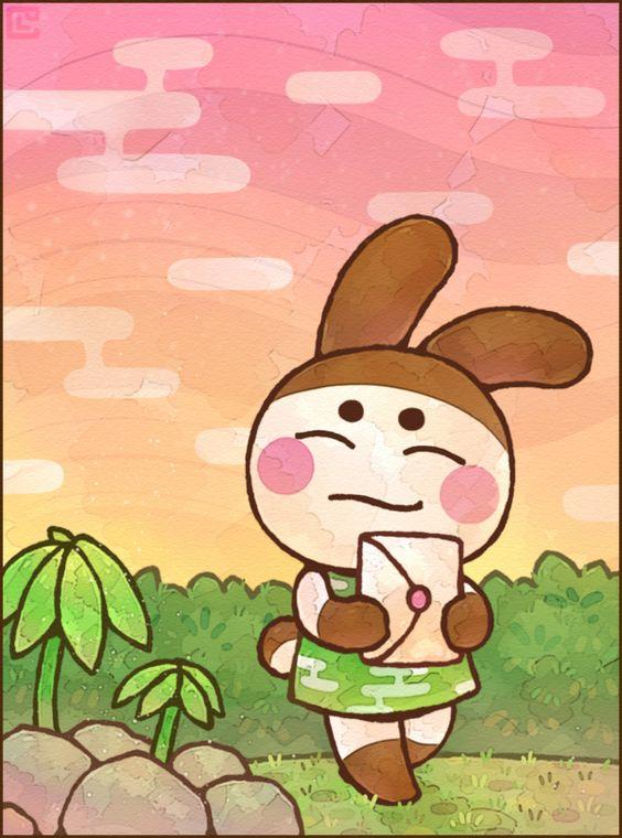 Animal Crossing: Genji by Cavea.deviantart.com on @DeviantArt