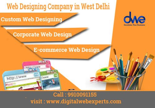 Digital Web Experts Is A Renowned Corporate Website Design Company In West Delhi We Are Highly Website Design Company Ecommerce Website Design Website Design