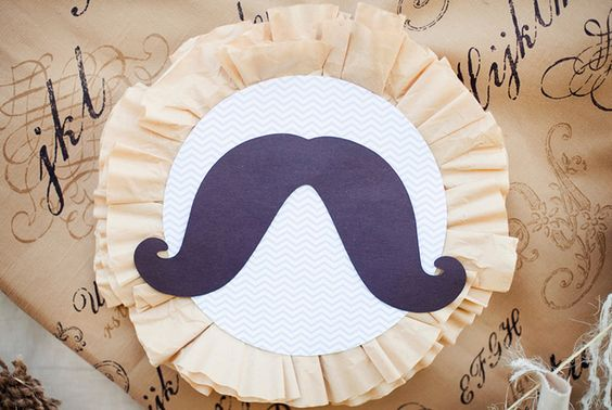 """Photo 12 of 15: Mustache Shower/Birthday / Baby Shower/Sip & See """"Vintage """"Little Man"""" Mustache Party"""" 