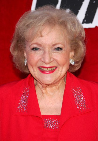 Betty White.  Rules.