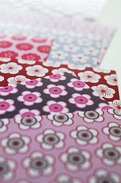 Japanese floral design by karaku*, via Flickr: