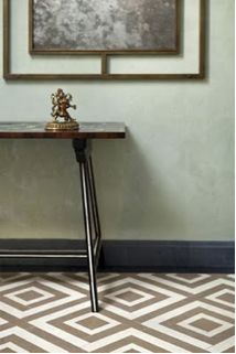 David Hicks inspired painted floors.  To die for!