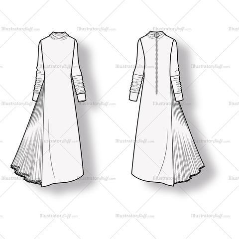 Free Fashion Flat Templates Trim Pack Fashion Design Sketches Fashion Design Jobs Fashion