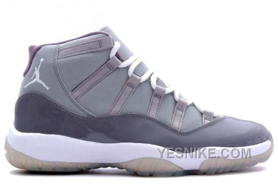 Authentic 378037001 Air Jordan Retro 11 XI Cool Grey Medium Grey White Cool Grey Km8wn