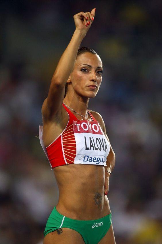 Ivet Lalova of Bulgaria