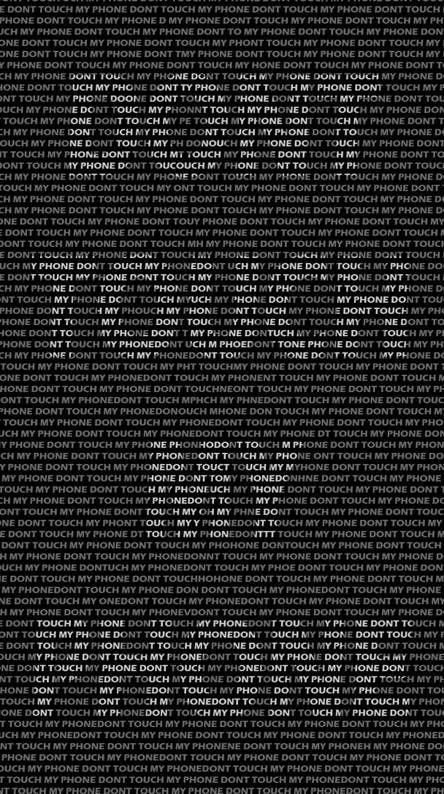 Dont Touch My Phone Wallpaper Layar Kunci Foto Abstrak Wallpaper Ponsel