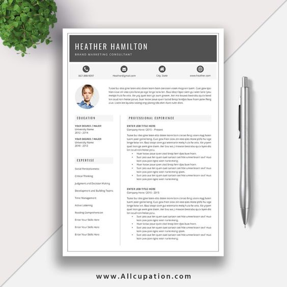 Quotes Of The Day These Amazing Quotes Tell You Everything You Need To Know About Career And Life Resume Template Word Resume Design Template Cv Template Word