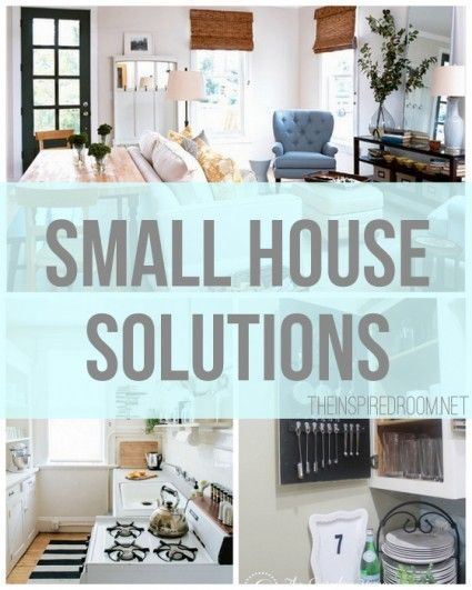 Small Space Organization Organizing Pinterest Small House Living House And Look At