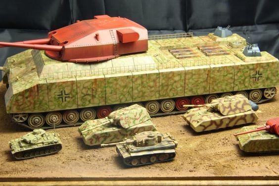 German Tank parade