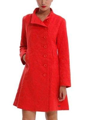 House of Fraser Desigual coat in red 144.64€ #shoppingpicks