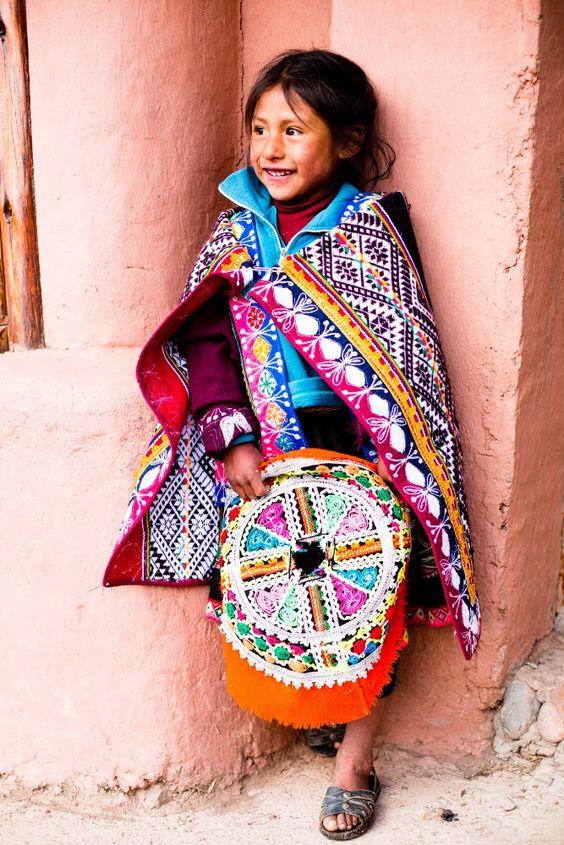 #Smiling #Amaru child