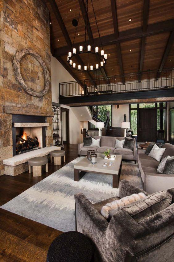 30 Contemporary Living Room Ideas 2020 Unique Stylish Dovenda Rustic Living Room Design Modern Rustic Living Room Rustic Home Design