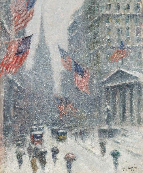Guy C. Wiggins, Washington's Birthday, Wall Street Winter