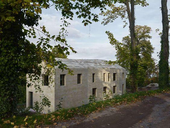 Neubau von Dudler am Hambacher Schloss / Haus am Entree - Architektur und Architekten - News / Meldungen / Nachrichten - BauNetz.de