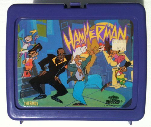 Vintage MC HAMMER HAMMERMAN Lunchbox & Thermos (1991) by M.C. Hammer, http://www.amazon.com/dp/B007Y6RC7C/ref=cm_sw_r_pi_dp_NyDNqb0FXX4XH