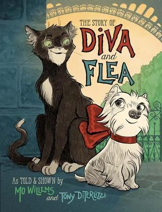 Diva, a small yet brave dog, and Flea, a curious streetwise cat, develop an unexpected friendship in this unforgettable tale of discovery. ~Loved everything about it: the feel of the thicker pages; the sprinkling of French; the illustrations, oh my goodness, the darling, sophisticated illustrations; the story. Having read this the day after the Paris attacks it feels like a wonderful little ode to Paris. A must read.: