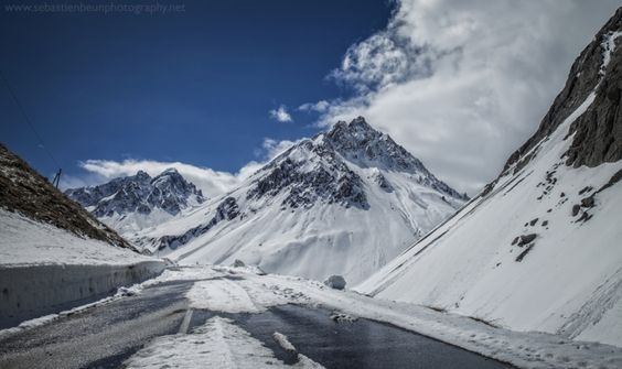 The Road to the Galibier, French Alps