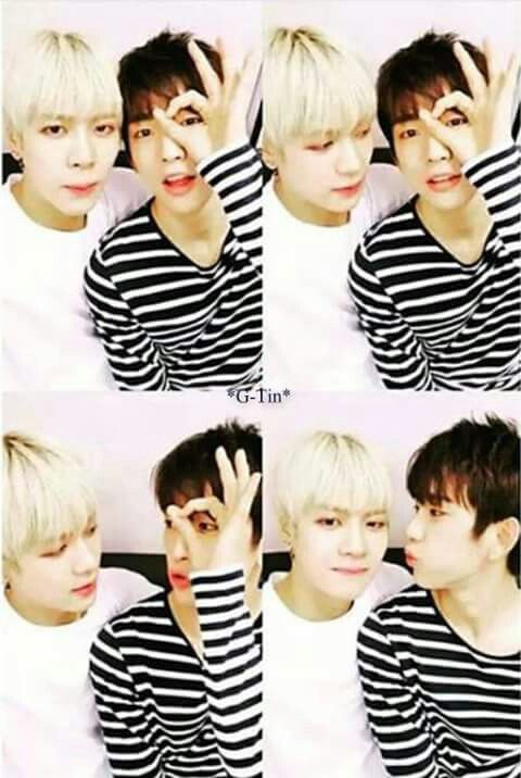 Jackson and Jin Young