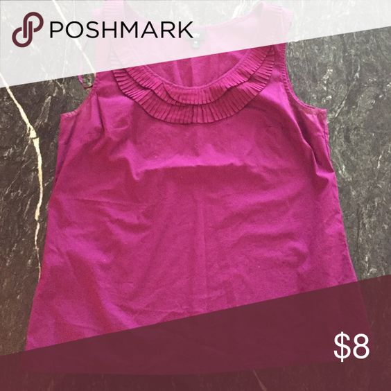 Mossimo plum top This is more purple than pink. Looks great tucked into a pencil skirt Mossimo Supply Co Tops
