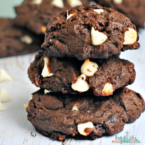Easy Scratch Recipe - Fudgy White Chocolate Chip Cookies Recipe