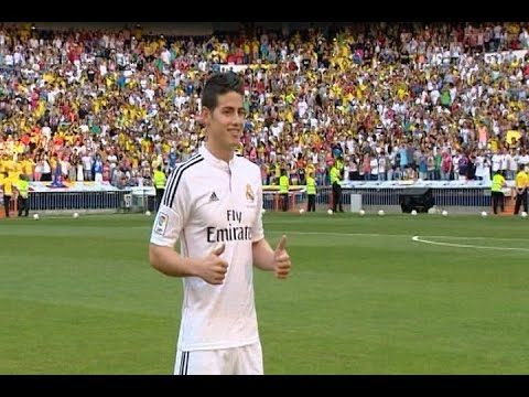 James Rodríguez ya es jugador del Real Madrid