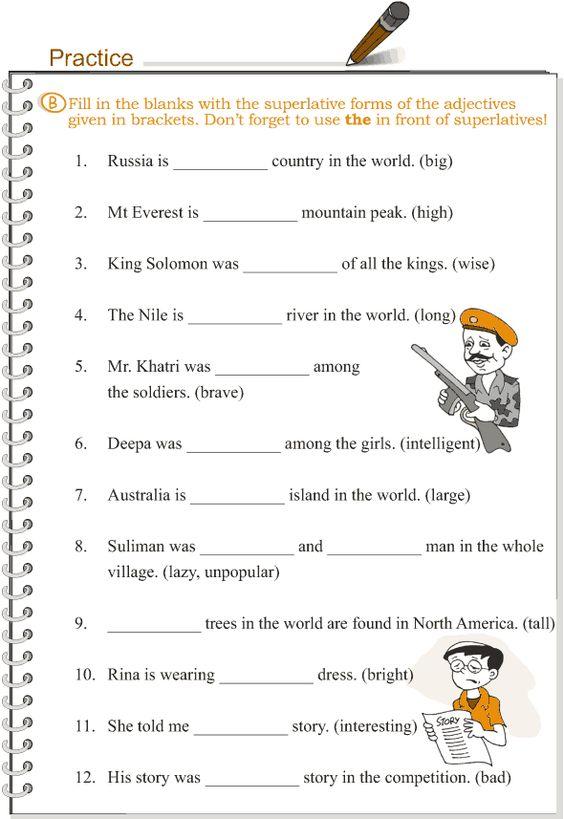 Grade+3+Grammar+Lesson+5+Adjectives++comparison   English ...
