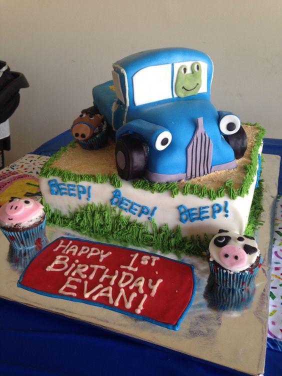 ... truck birthday cakes little blue trucks birthday cakes trucks