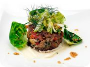 Top Chef University: Richard Blais' Crab Cakes with Smoked Mayonnaise and Brussels Sprout