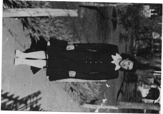 This is my mom, Sarah Ruperta Mora, from Santa Fe, New Mexico. Her mother's and her father's ancestors came from Spain.