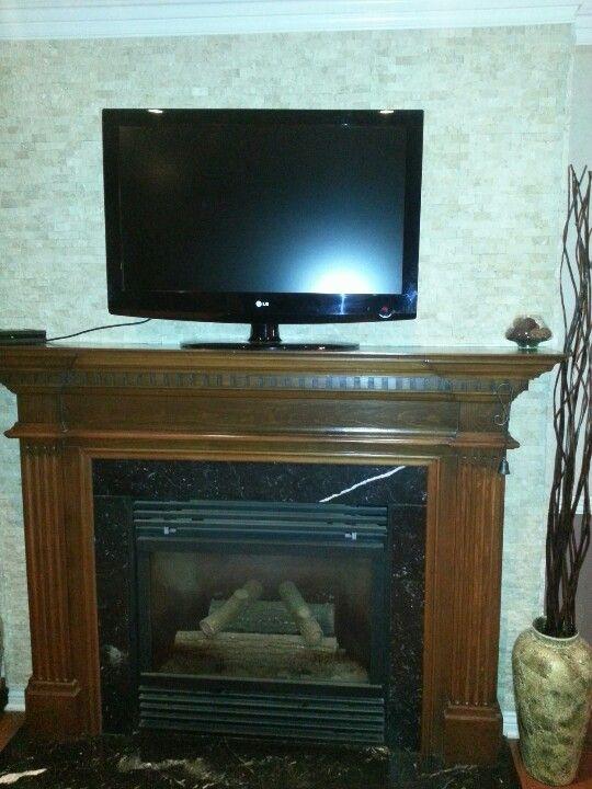 fireplaces backsplash tile and fireplace wall on pinterest