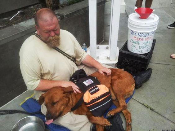 LOOK: Homeless Mans Unconditional Love For His Dog Will Astound You