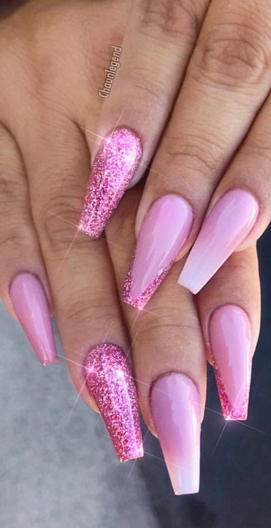 38 Creative And Newest Acrylic Nails Designs For This Year Part 14 Valentine S Day Nails Acrylic Nail Designs Fake Nails