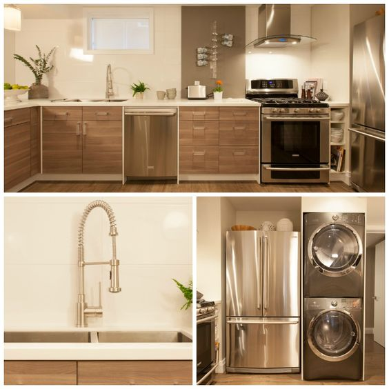 Stainless Steel Appliances Lend To The High End Look Of