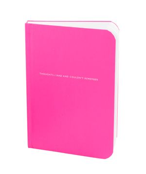 Thoughts I Had and Couldn't Remember Journal #gifts (I want all of them!)