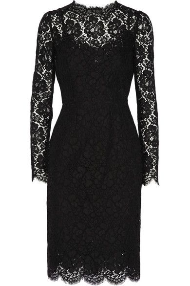 Dolce & Gabbana | Lace dress | NET-A-PORTER.COM:
