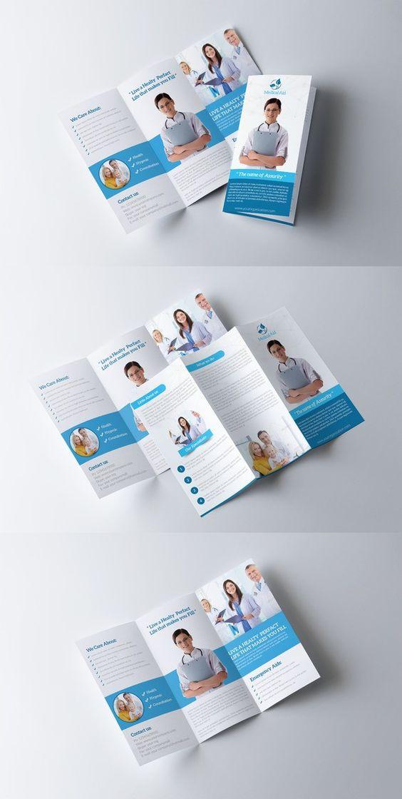 Medical Transcription Brochure Template booklet design - free medical brochure templates