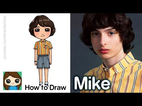 How To Draw Stranger Things Characters Youtube Stranger Things Art Stranger Things Characters Stranger Things