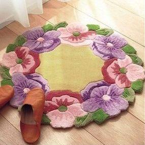 Envío libre - zd184, kit de alfombra gancho pestillo. Acyliz hilo almohadas. 100% acylic conjunto de hilos